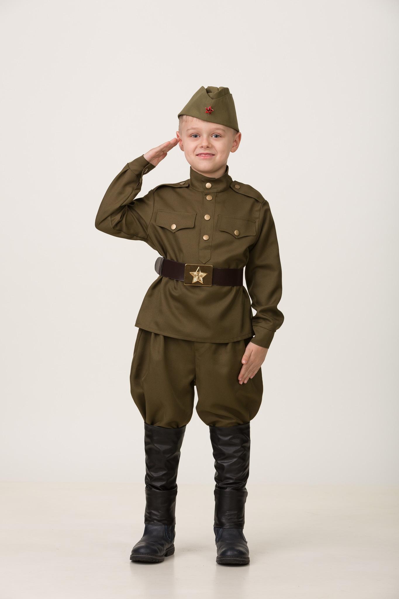 Военная форма Солдат в галифе текстиль