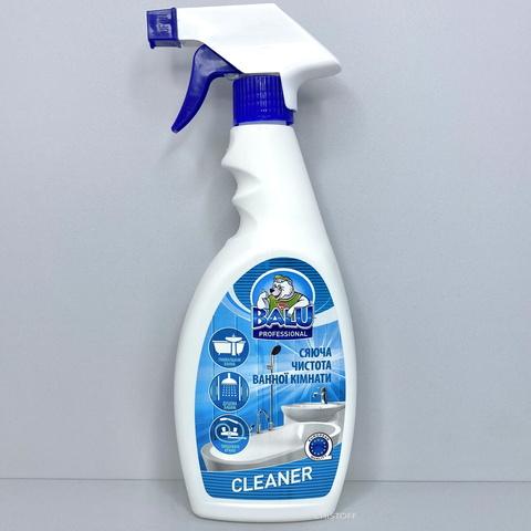 Средство профессиональное для мытья ванной комнаты BALU CLEANER 550 мл, с распылителем