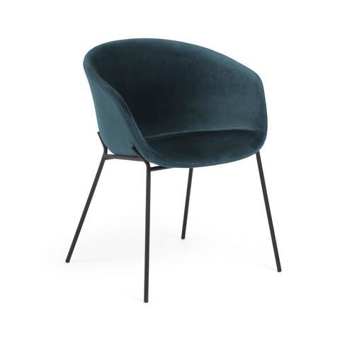 Кресло Zadine бархат бирюзовый