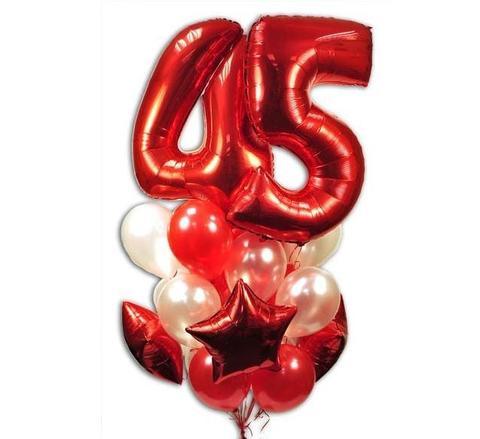 shop-shariki.ru фонтан из шаров на 45 лет