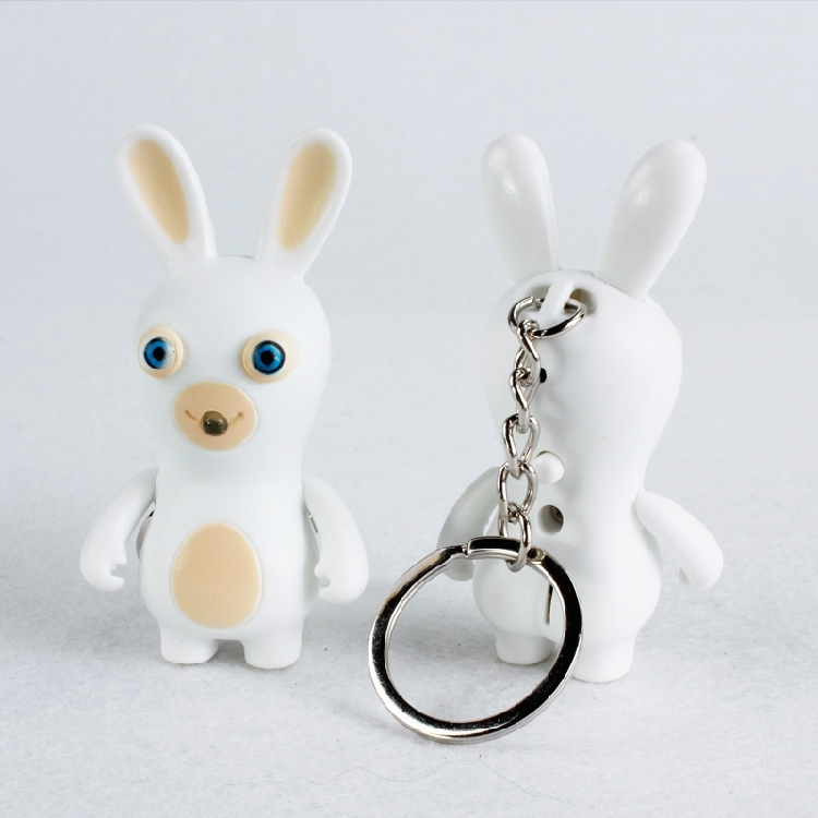 Бешеные кролики брелок фонарик