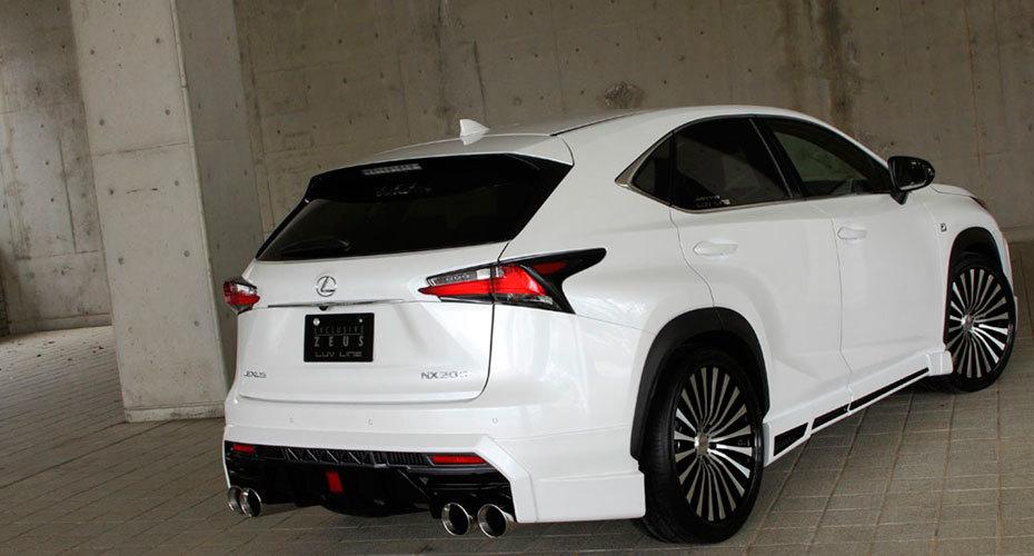 Обвес MzSpeed для Lexus NX200t/NX300h