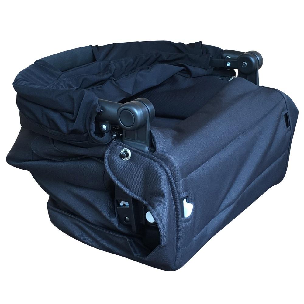 Larktale Люлька Coast Carry cot Folding -Black- w/ Adaptors