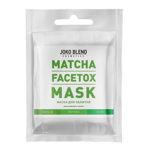 Маска для обличчя Matcha Facetox Mask Joko Blend 20 гр (1)