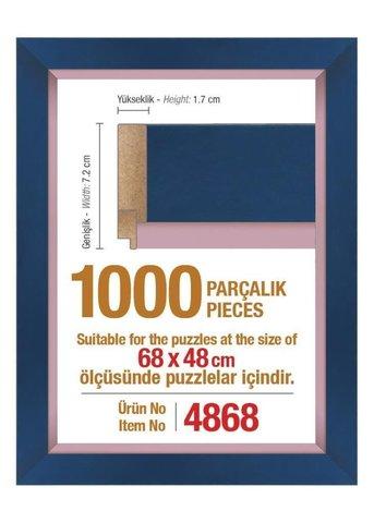Pazl çərçivəsi (68 x 48 cm.) 4868