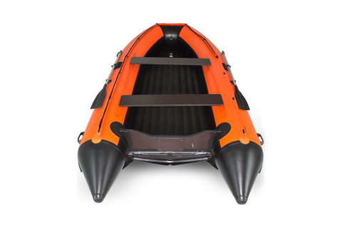 Надувная ПВХ-лодка Солар Максима - 450 К (оранжевый)