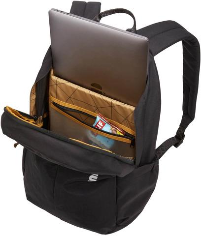Картинка рюкзак городской Thule Indago Backpack 23l Black - 2