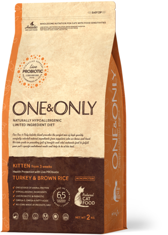 One&Only Kitten Turkey & Brown Rice