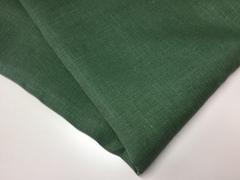 Лен костюмный 100%, пыльно-зеленый