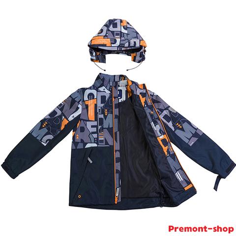 Ветровка Premont для мальчиков Институт Филдса SP72636 Black