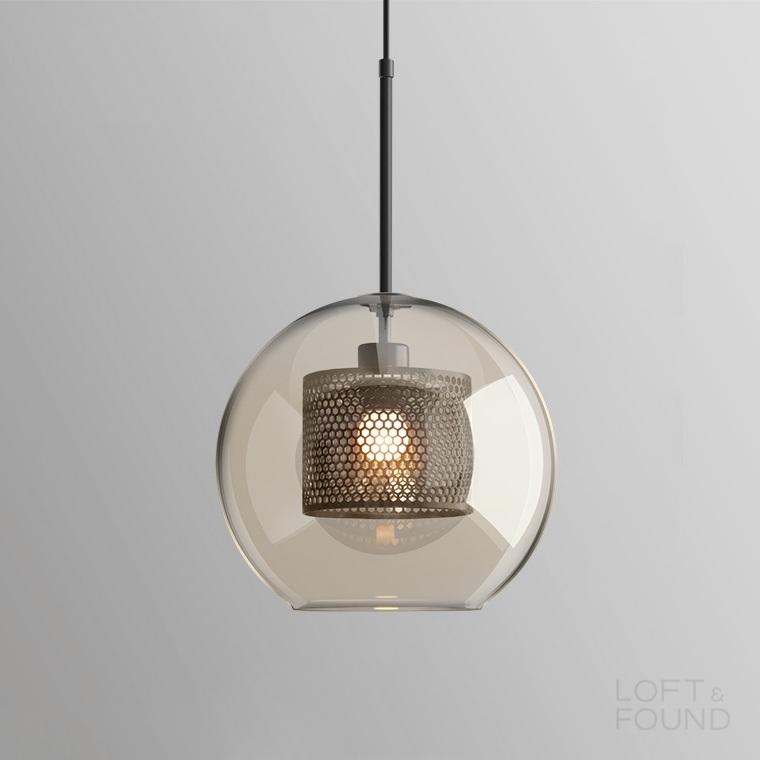 Подвесной светильник Lampatron style Catch Amber