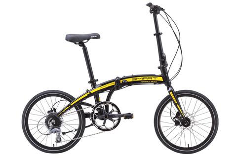 Smart Rapid 300 (2016) черный с желтым