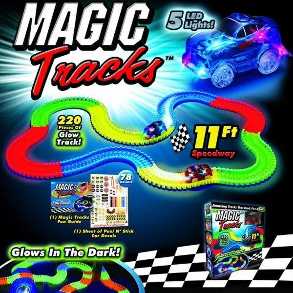 Конструкторы Конструктор Magic Tracks (165 дет) magic-track-220.jpg
