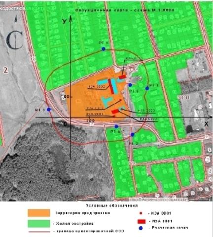 Как экологу оформить ситуационную карту-схему