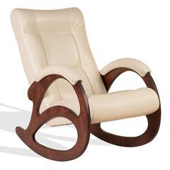 Кресло-качалка Джаз Экокожа (Cream)