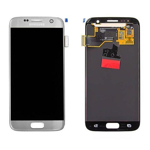 LCD SAMSUNG Galaxy S7 G930F + Touch Silver Orig