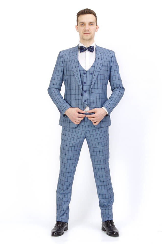 Костюмы Slim fit Костюм мужской - тройка Slim Fit 29/68 IMGP8869.jpg
