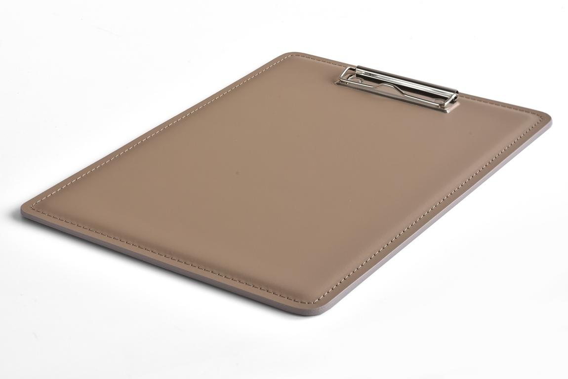 планшет А4 с зажимом кожаный