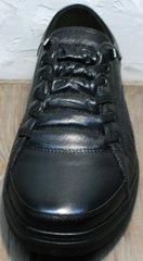 Кроссовки без шнурков мужские весна осень Novelty 5235 Black.