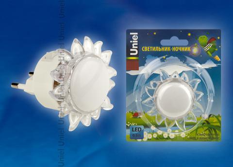 DTL-308-Подсолнух/RGB/4LED/0,5W Светильник-ночник. Выключатель на корпусе. Блистер