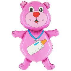 """Фигура """"Розовый мишка"""""""