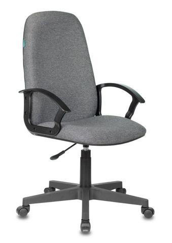 Кресло руководителя Бюрократ CH-808LT серый 3C1 крестовина пластик
