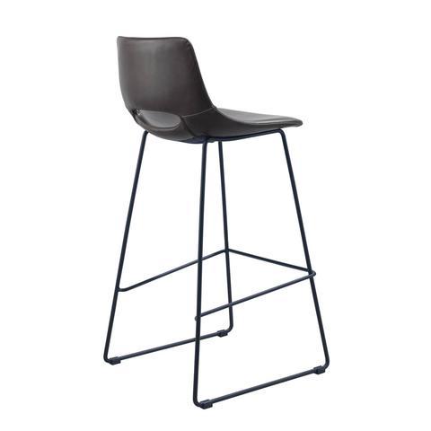 Барный стул Ziggy темно-коричневый