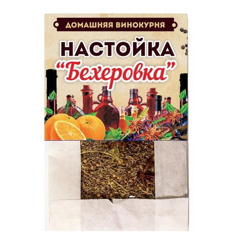 Набор для настаивания Домашняя винокурня Бехеровка, 50 г на 2 л