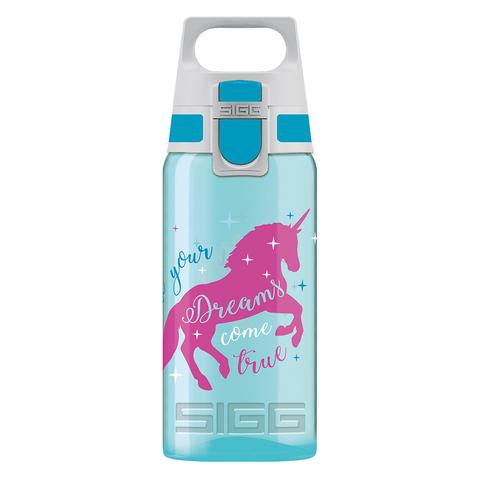 Бутылочка детская Sigg Viva One Unicorn (0,5 литра), бирюзовая