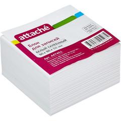 Блок для записей Attache 90x90x50 мм белый (плотность 100 г/кв.м)