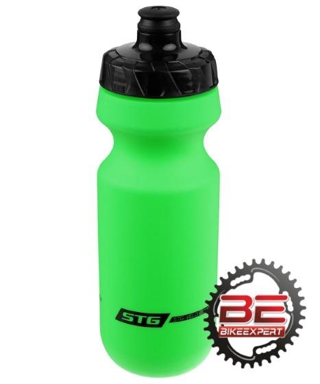 Фляга для воды STG 600мл без крышки зеленая
