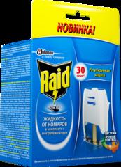 """Электрофумигатор+Жидкость """"Raid"""" 30ночей"""