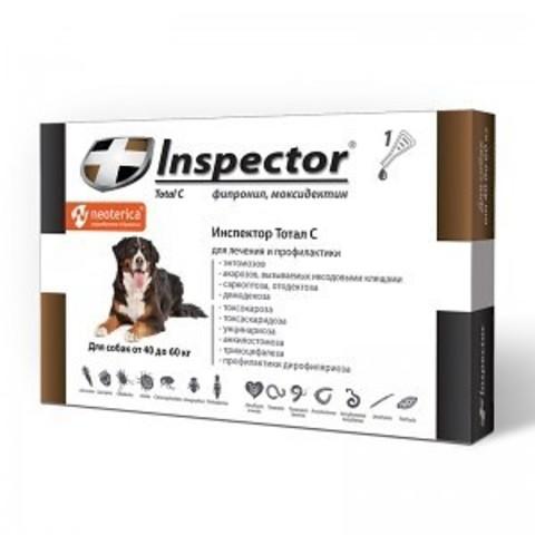 INSPEСTOR (Инспектор) для собак 40 -60 кг   1 пип.