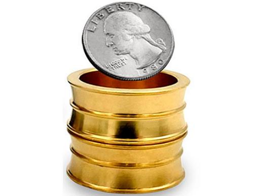 Проникновение монет сквозь металл