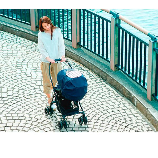 Компания COMBI - детская коляска «Mechacal Handy Auto 4cas» сахара
