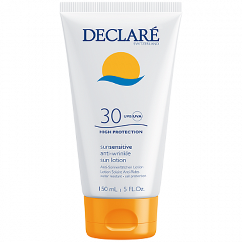 DECLARE Солнцезащитный лосьон SPF 30 с омолаживающим действием | Anti-Wrinkle Sun Lotion SPF 30
