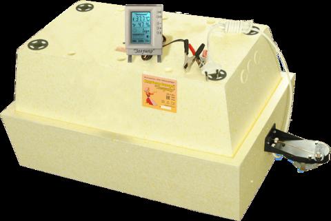 Инкубатор Золушка 28 яиц автоматический с контроллером и ЖК-экраном 220/12 вольт