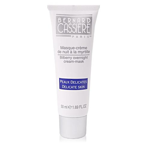 BERNARD CASSIERE линия с Черникой: Ночной крем-маска для лица с Черникой (Bilberry over Night Cream-Mask), 50мл