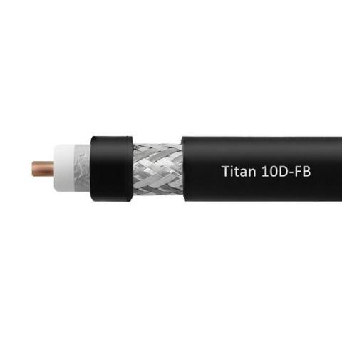 ВЧ кабель TITAN 10D-FB CCA PVC