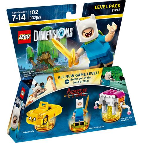 LEGO Dimensions: Level Pack: Время приключений 71245 — Adventure Time Level Pack — Лего Измерения