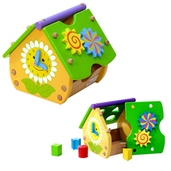 ToysLab Деревянный сортер «Домик» (71017)