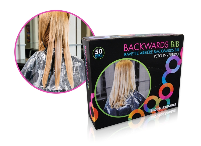 Framar Backwards Bibs| Одноразовые накидки для защиты клиента (50 шт.)