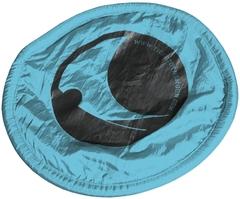 Складной фризби Ticket to the Moon Turquoise