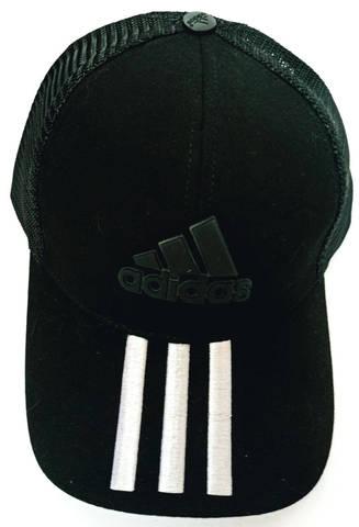 Бейсболка адидас черная. Летняя кепка с сеткой Adidas W-Black