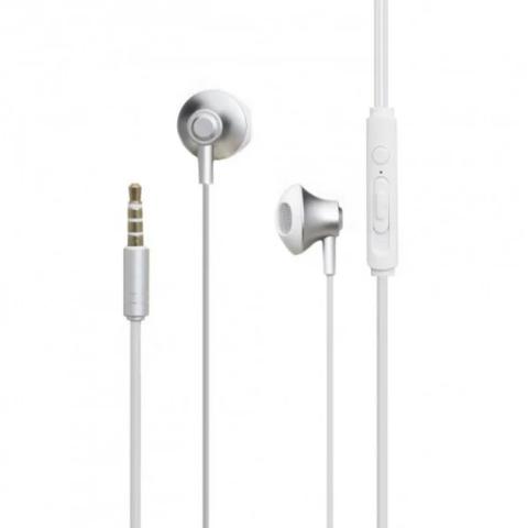 Remax / Наушники с микрофоном RM-711 | серебро
