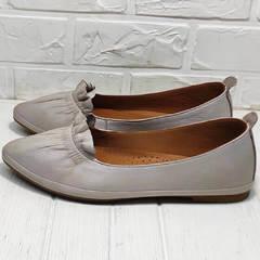 Женские балетки туфли без каблука Wollen G036-1-1545-297 Vision.