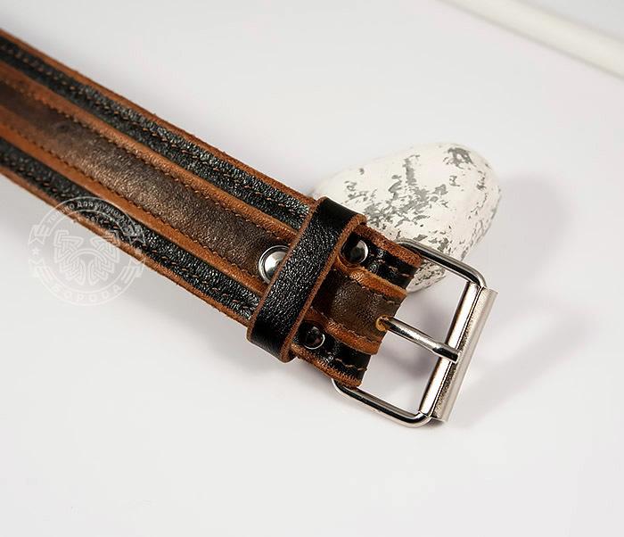 BL445-2 Оригинальный мужской браслет из натуральной кожи ручной работы фото 03