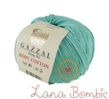 Пряжа Gazzal Baby Cotton 3452 лазурь