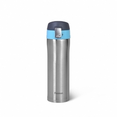 9816 FISSMAN Термокружка 420мл, цвет Голубой (нерж.сталь)