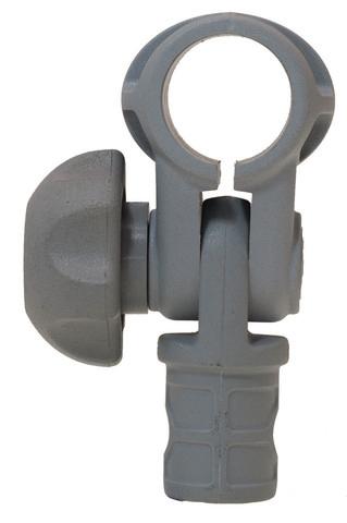 Наклонное соединение Tf022 для труб Ø 22 мм, серое